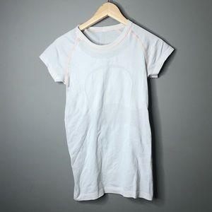 Lululemon swiftly tee t shirt pink 6
